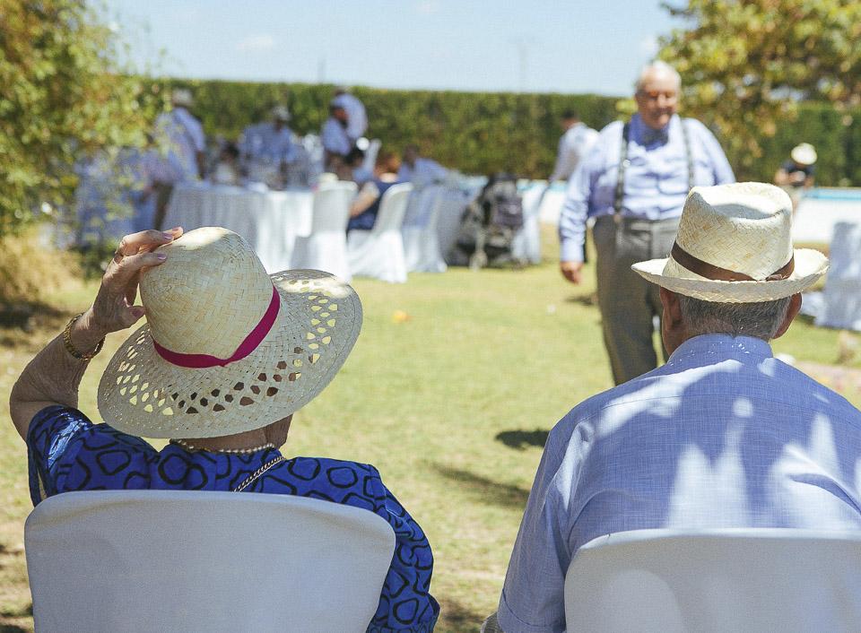 92 abuelos en boda civil
