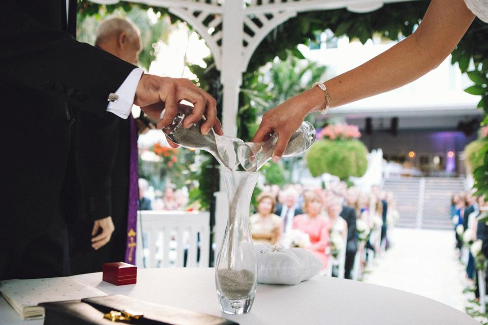 26 ceremonia de la arena en boda