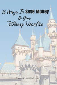 You can save money on your Disney Vacation by following these tips!