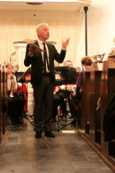 Opening door onze dirigent Jaap van Stam