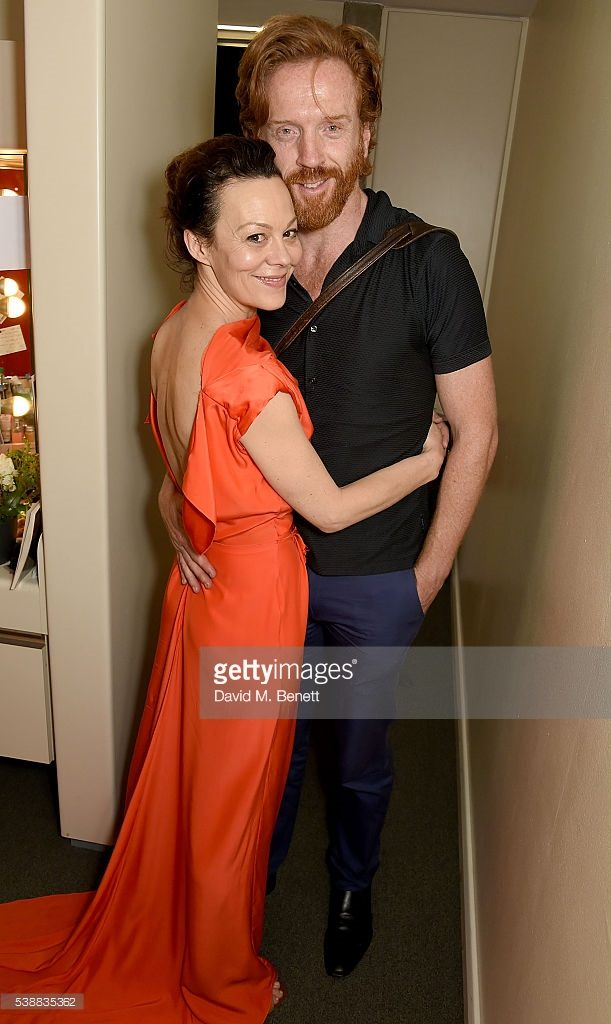 source: Getty Images, Helen's dressing room, The Deep Blue Sea press night
