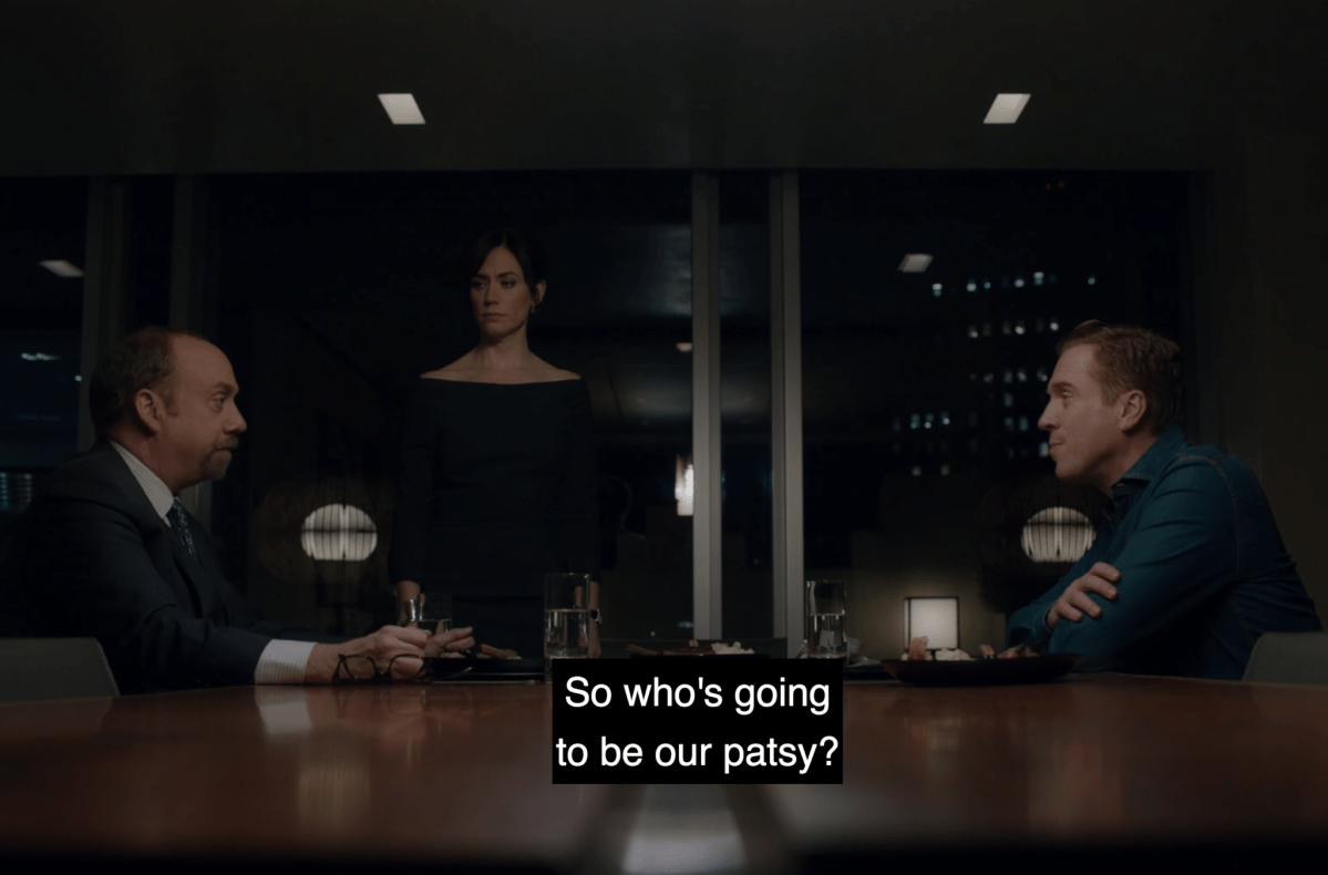 "From the Trader's Desk: We Sold Our Souls, Recapping Billions S3 E7 ""Not You, Mr. Dake"""