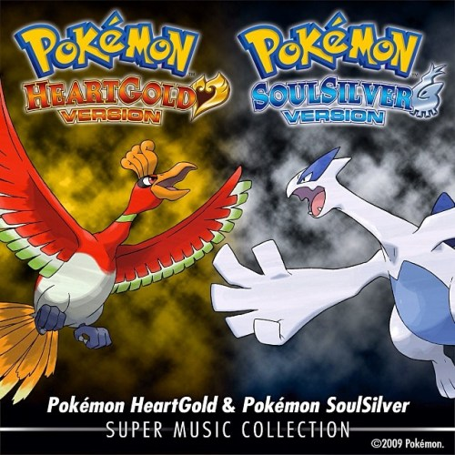 Disponible en #itunes la banda sonora remasterizada de Pokémon HeartGold & Pokémon SoulSilver: Super Music Collection