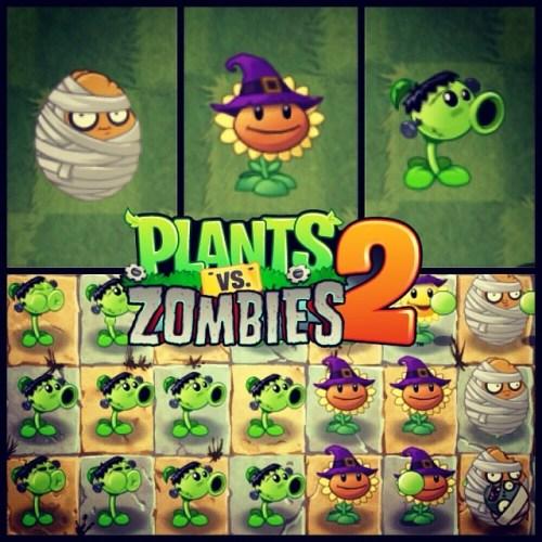 Así luce #PlantsVsZombies2 para #Halloween #popcap #app #ios