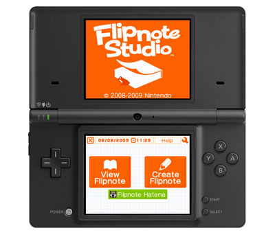Concurso Flipnote Studio Nintendo Dsi