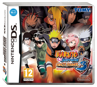 Naruto Shippuden Ninja Council 3 Nintendo Ds