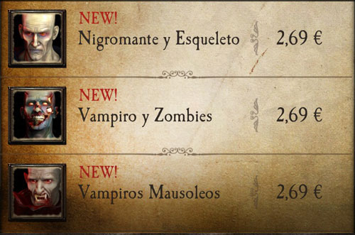 Nuevos monstruos app Warhammer Quest