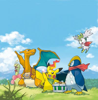 Pokémon mundo misterioso exploradores del cielo nintendo DS