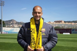 Pep Guardiola lords of football