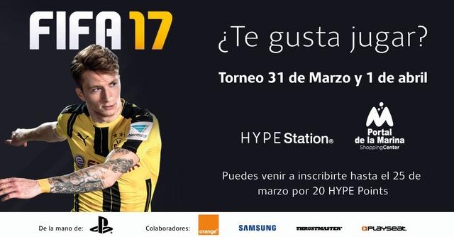 El Torneo Fifa17 llega al Portal de la Marina de Valencia ...