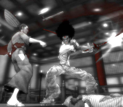 Afro Samurai Japan weekend barcelona