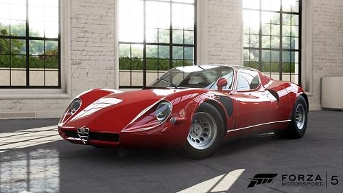 alfa romeo forza motorsport El pack Smoking Tire incorporará 10 espectaculares vehículos a Forza Motorsport 5