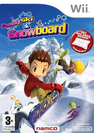 family ski nintendo wii