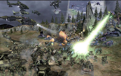 Halo Wars animación