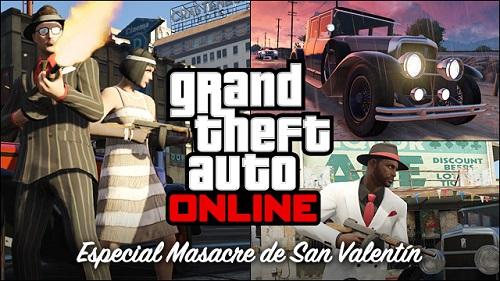 masacre san valentin GTA GTA Online también tendrá su peculiar modo de celebrar el San Valentín