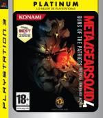 Metal Gear Solid 4: el título de Konami ya es Platinum