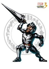 sir arthur marvel versus capcom 3