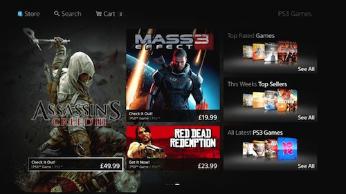 nueva PlayStation Store