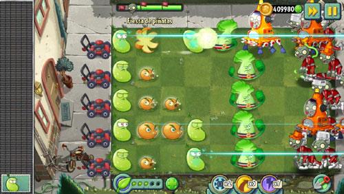 nuevas plantas vs zombies 2