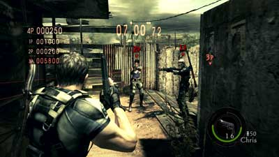 resident evil 5 pc versus mode