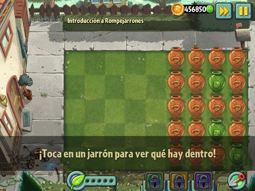 rompejarrones3 Los jarrones vuelven en la nueva actualización de Plants Vs Zombies 2