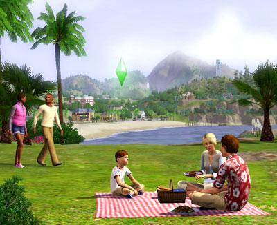 sims31 David Bisbal se convierte en un personaje de Los Sims 3 en su nuevo videoclip