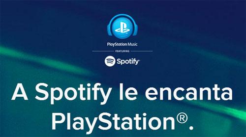 spotify Playstation y Spotify se unirán esta próxima primavera