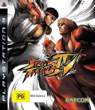 street fighter iv portada