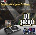 tagÜin premia a los usuarios más activos con DJ Hero