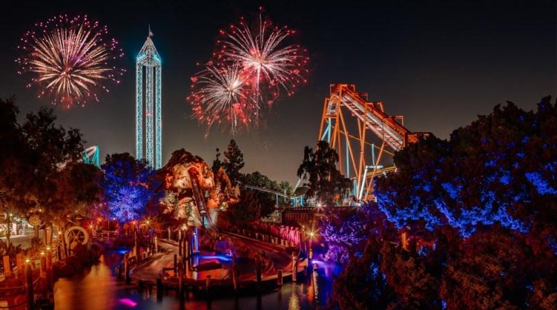 Knott's Berry Farm Fireworks