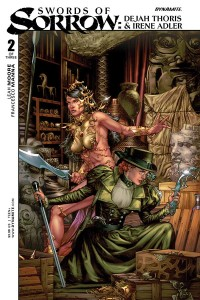 Swords of Sorrow: Dejah Thoris & Irene Adler #2