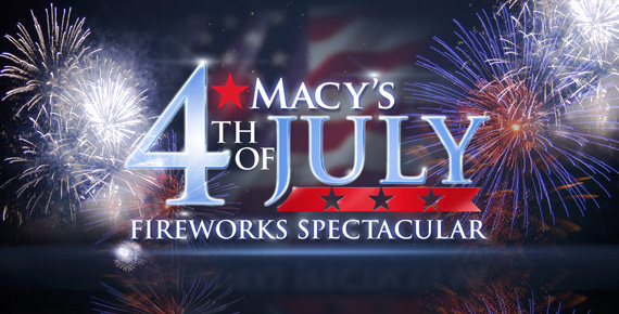 "MACY'S FOURTH OF JULY FIREWORKS SPECTACULAR -- Pictured: ""Macy's Fourth of July Fireworks Spectacular"" Logo -- Photo by: NBC"