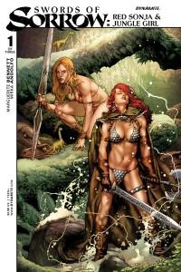Swords of Sorrow Red Sonja/Jungle Girl #1 Jay Anacleto Cover