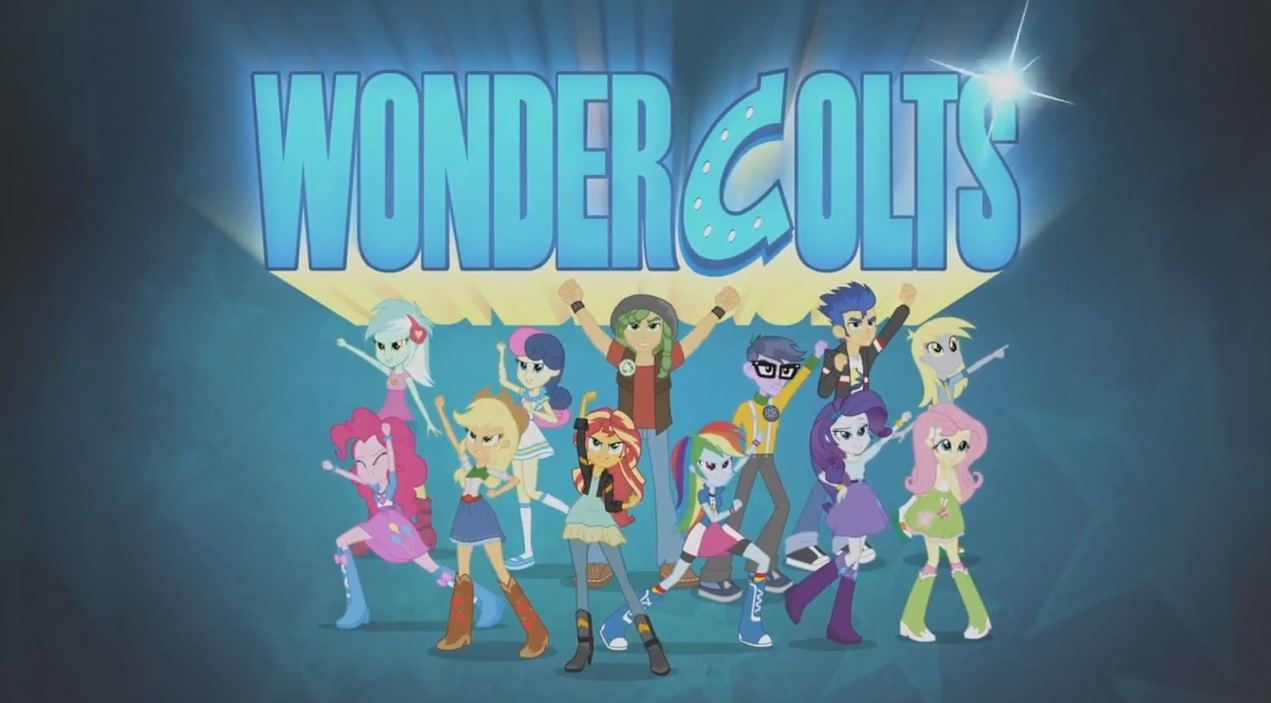 - My Little Pony Equestria Girls: Friendship Games (IS ALMOST HERE