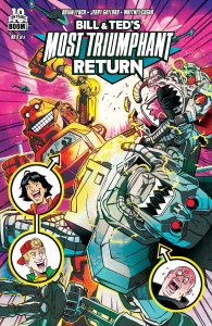 Bill & Ted's Most Triumphant Return #6 Main Cover