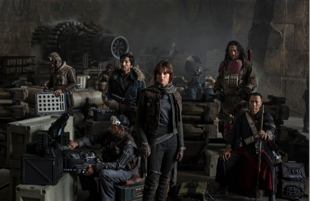 Cast of Rogue One Star Wars