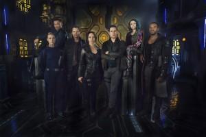 Dark Matter Cast Photo