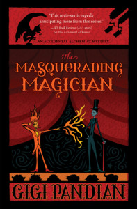 Cover for The Masquerading Magician by Gigi Pandian
