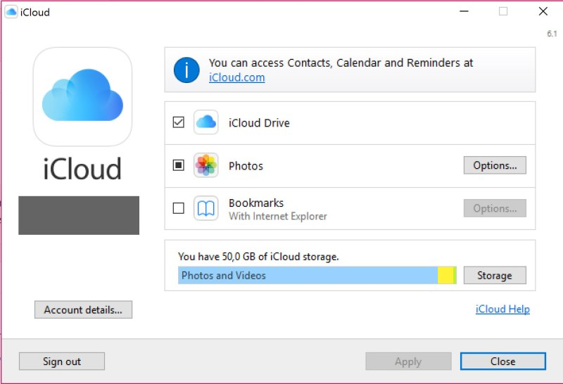 How to put icloud on my computer