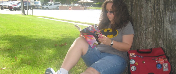 Read Comics in Public Day 2011