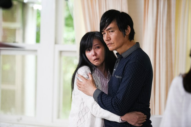 楊貴媚表示見到霍正奇跟丁國琳在自己家抱在一起這一幕令她很不堪