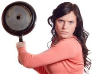 istri marah
