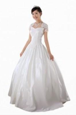 Gaun pengantin korea simple elegan