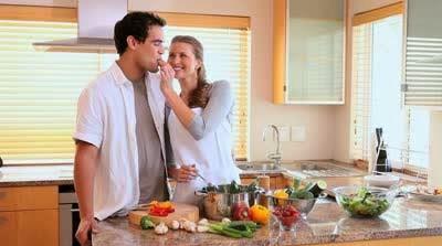 Dapur romantis