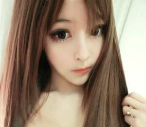 Wang Jiayun mirip boneka