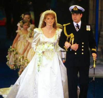 Royal Wedding prince andrew & sarah ferguson