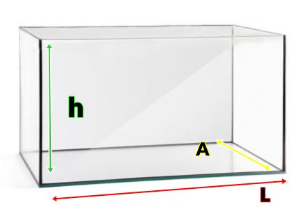Como calcular los litros de un acuario