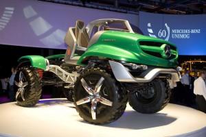 2011 Mercedes-Benz Unimog Concept 9