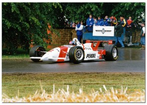 Emerson Fittipaldi 1996 Penske Mercedes PC25 Champcar. Goodwood Festival of Speed 1997 5