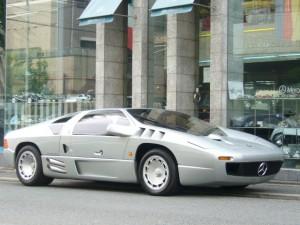 Silver 1991 Isdera Imperator 108i 2